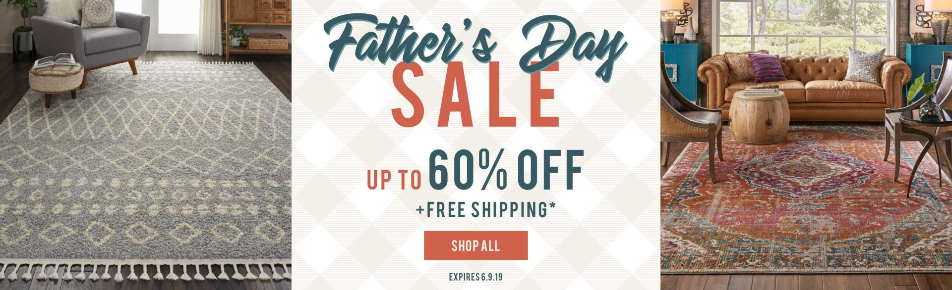 Father's Day Rug Sale