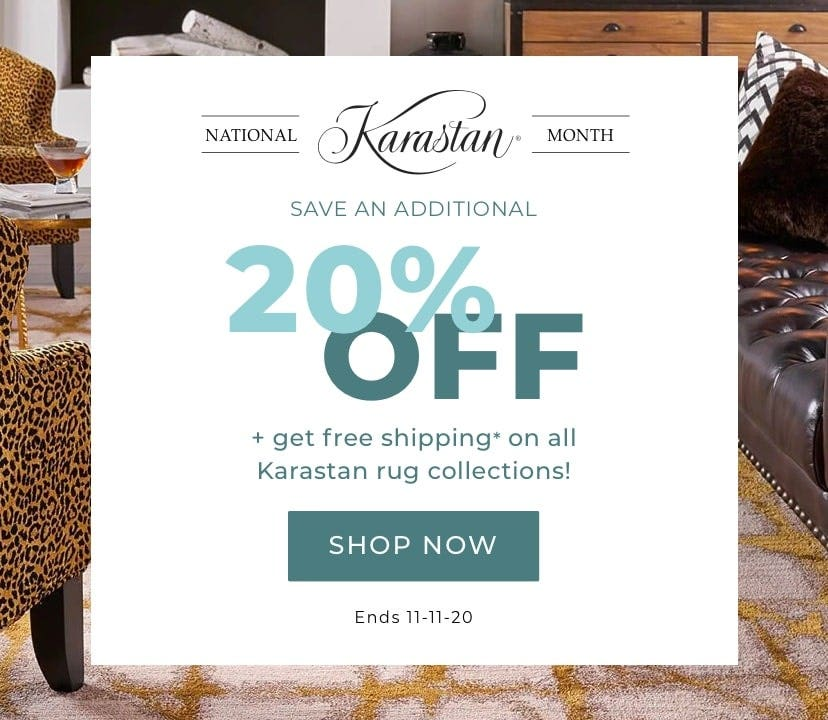 National Karastan Rug Month Sale