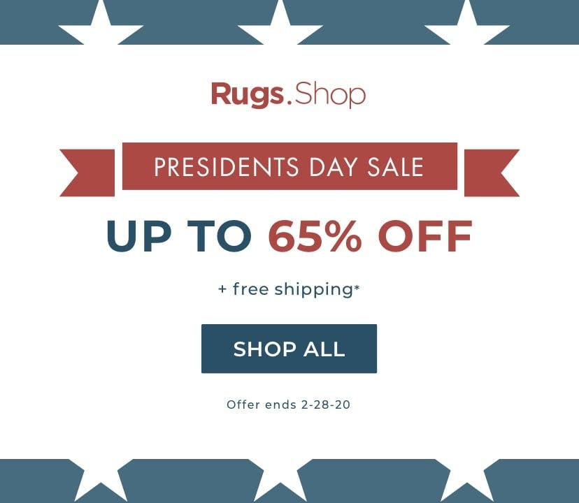 President's Day Rug Sale