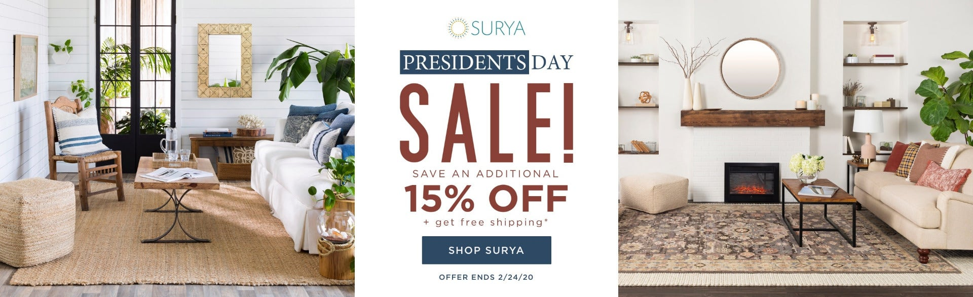 Surya President' s Day Sale