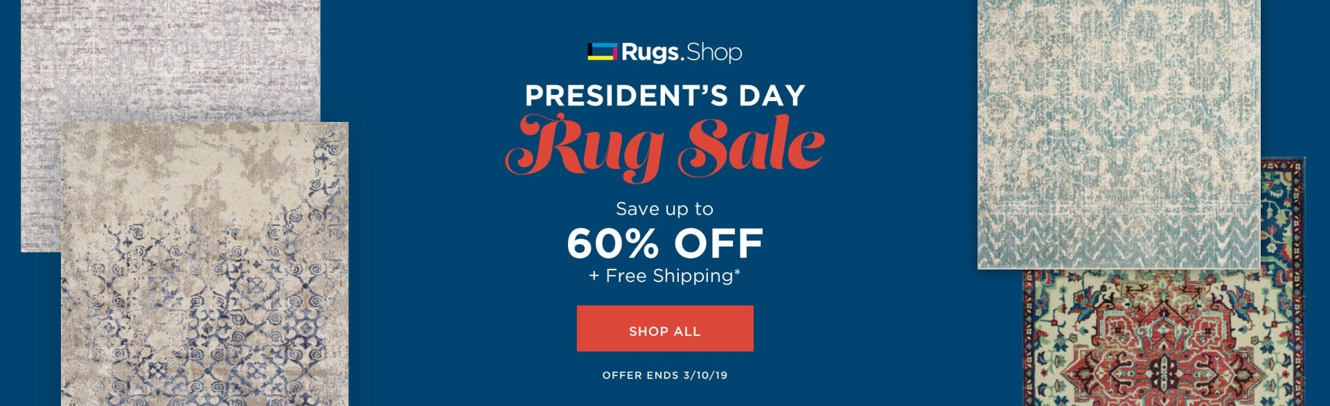 Rugs.Shop President's Day